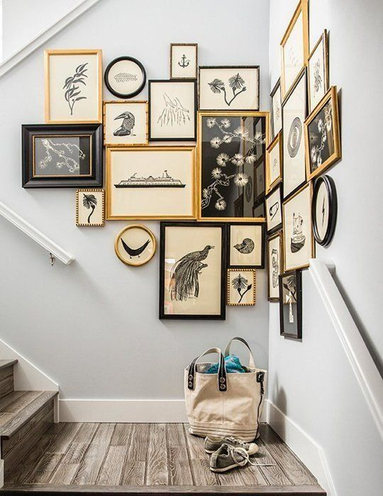 hiasan dinding tangga