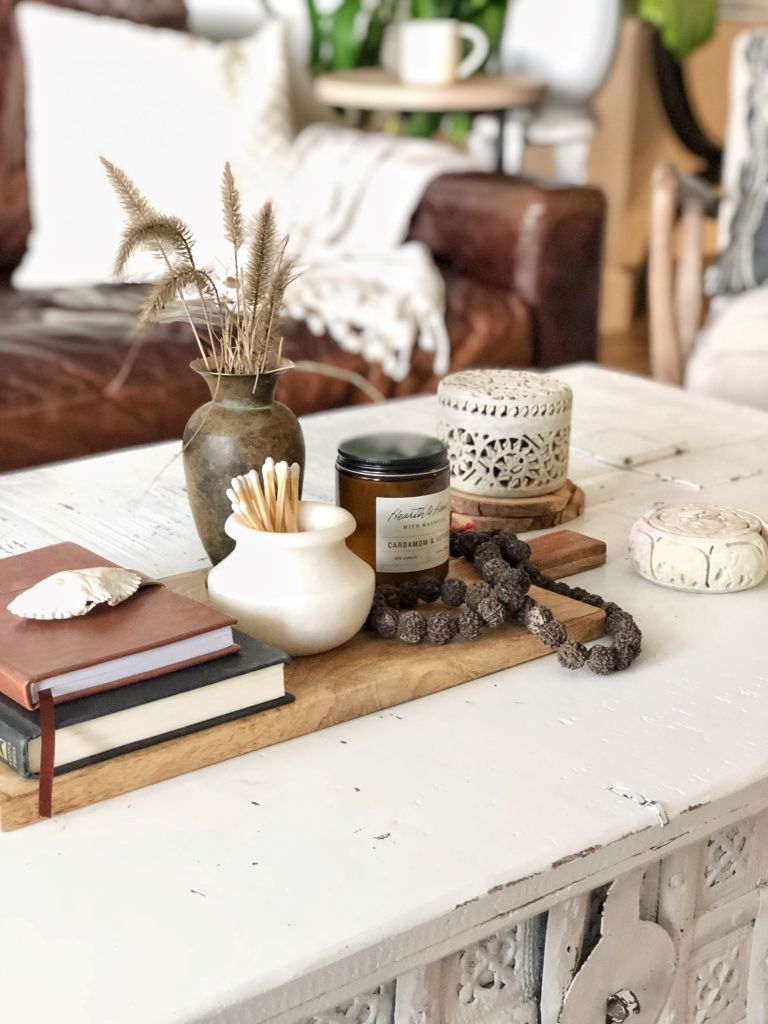 How to guide to decorate your coffee table