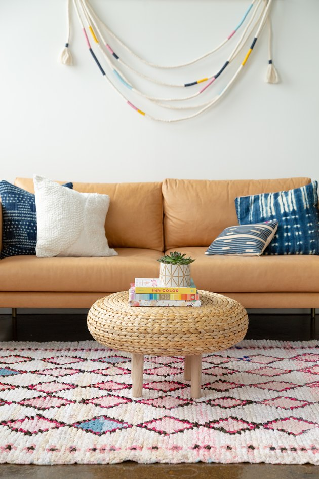 BOHO chic coffee table ikea furniture hack