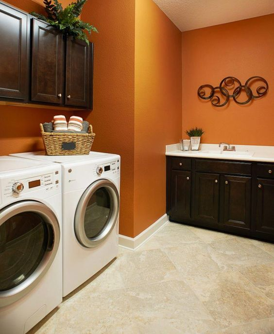 10 attractive laundry room paint color ideas to consider on paint for laundry room floor ideas images id=72366