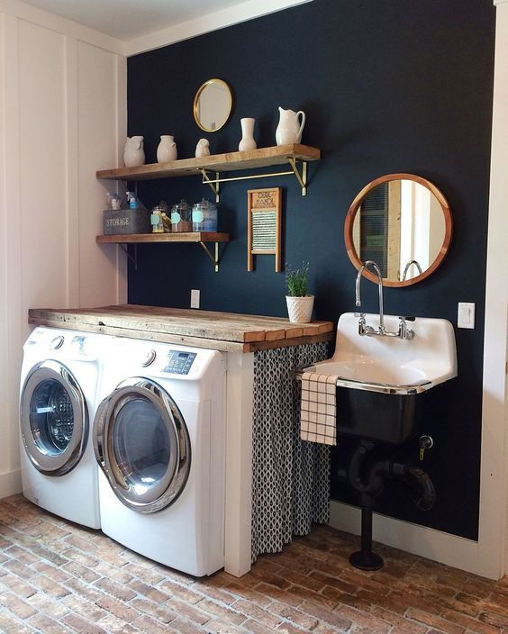 10 attractive laundry room paint color ideas to consider on paint for laundry room floor ideas images id=44647