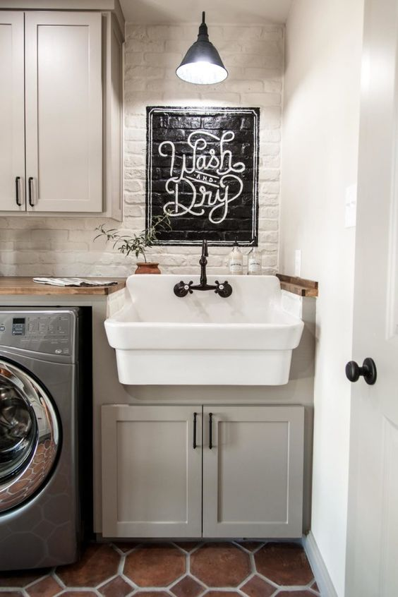 10 attractive laundry room paint color ideas to consider on paint for laundry room floor ideas images id=86478