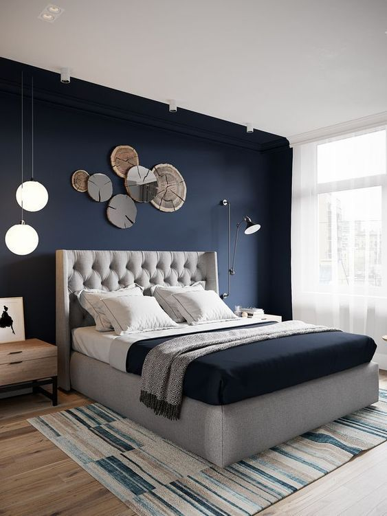 15 Exciting Modern Bedroom Wall Designs For Bedroom Decor on Bedroom Wall Decor  id=88721
