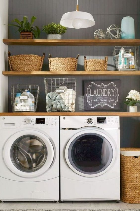 15 Perfect Small Laundry Room Storage Ideas To Consider on Small Laundry Ideas  id=66987