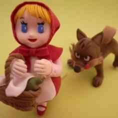 赤ずきんちゃんと狼 / クレイクラフト