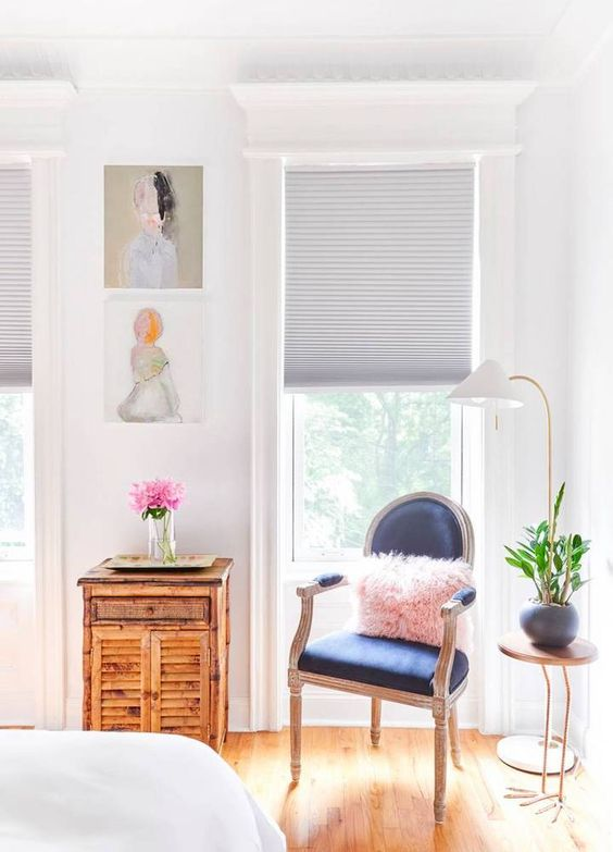 a cool corner setup.: