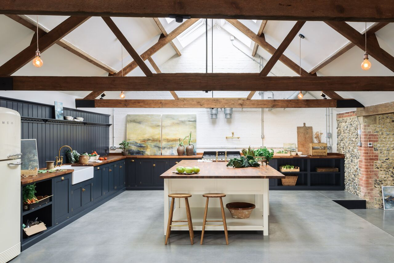 Cattle Shed Turned Amazing Kitchen