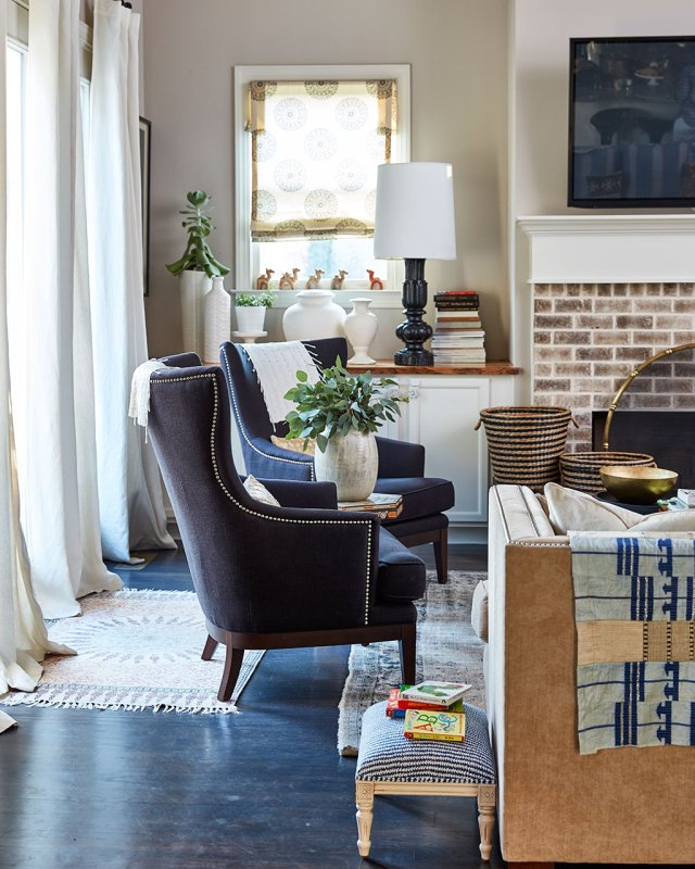 warm and eclectic house tour