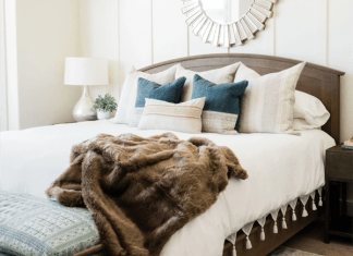 Andrea West Design bedroom