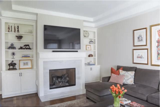 Living Room by Nancy Lane