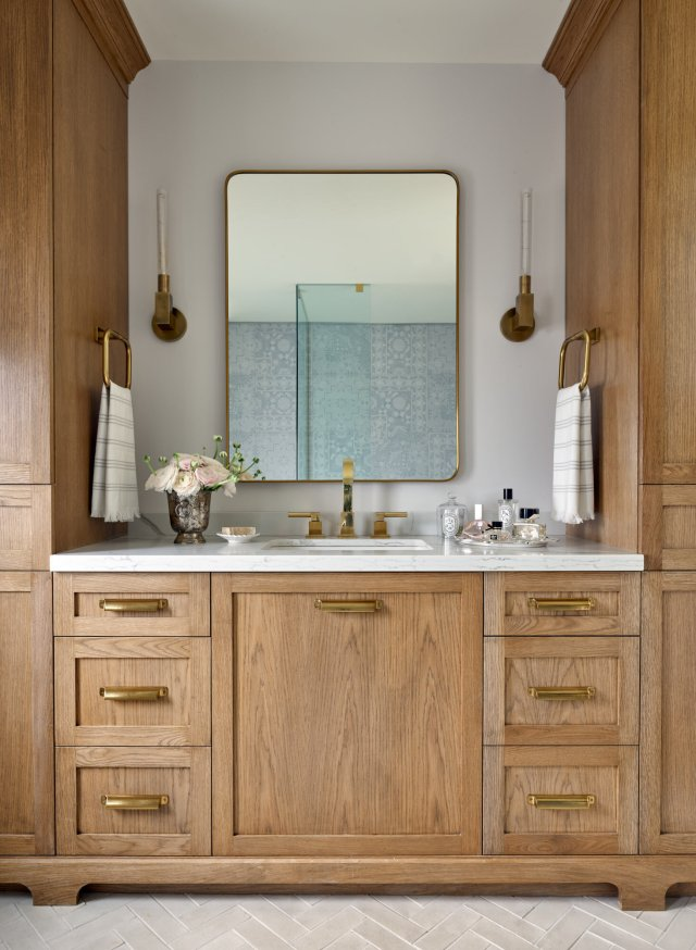 Emily Griffin Design bathroom