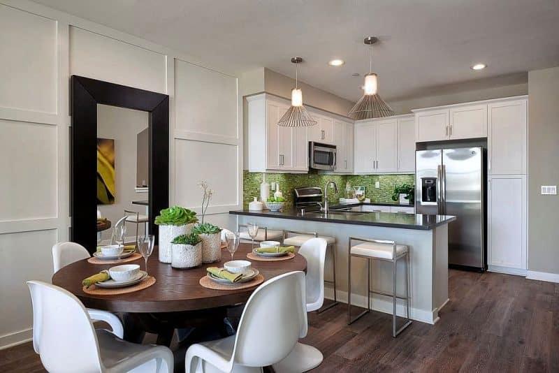 Small Living Dining Kitchen Room Design Ideas Novocom Top