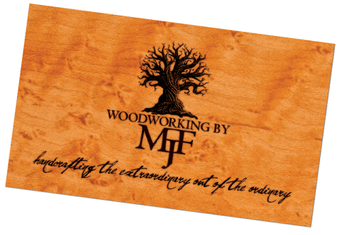 MJF Woodworking Logo