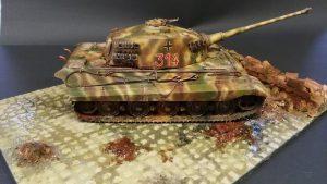 Henschel German tank modelbouw -2