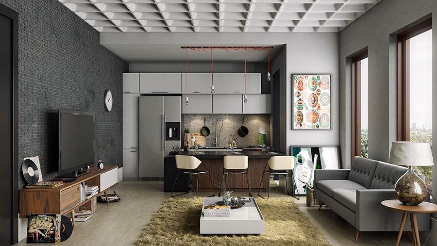 Si vende già arredato appartamento di 60 mq al piano terra in corso savona 267, formato da: How To Furnish An Open Space Of 20 30 Sqm Decor Scan The New Way Of Thinking About Your Home And Interior Design