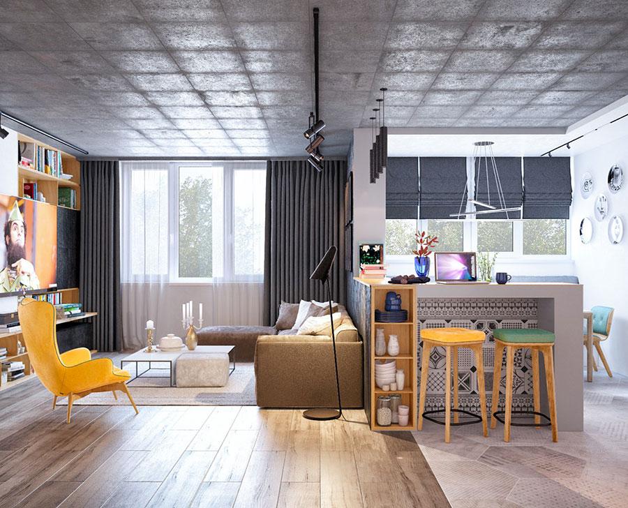 Come dividere o delimitare la cucina all'interno di un soggiorno open space? How To Furnish An Open Space Of 20 30 Sqm Decor Scan The New Way Of Thinking About Your Home And Interior Design