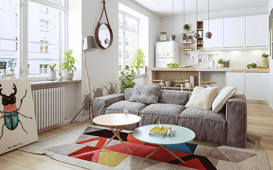Scopri come arredare un soggiorno moderno con una semplice guida che ti. How To Furnish An Open Space Of 20 30 Sqm Decor Scan The New Way Of Thinking About Your Home And Interior Design
