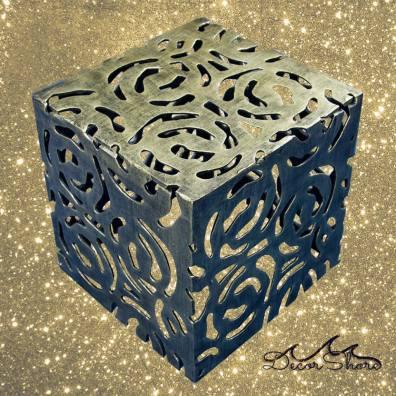 Antiqued Bronze Cube - Versatile