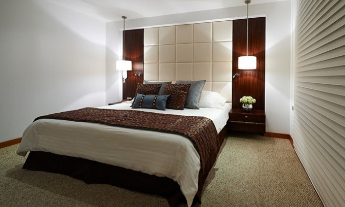 Design Of A Bedroom Without A Window How To Make A Room Bright And Spacious Interior Of A Bedroom Without Windows Window From Room To Room Design