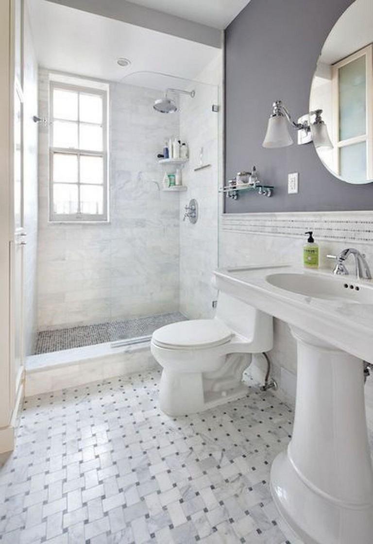 41+ Cool Small Studio Apartment Bathroom Remodel Ideas ... on Apartment Bathroom Ideas  id=78976