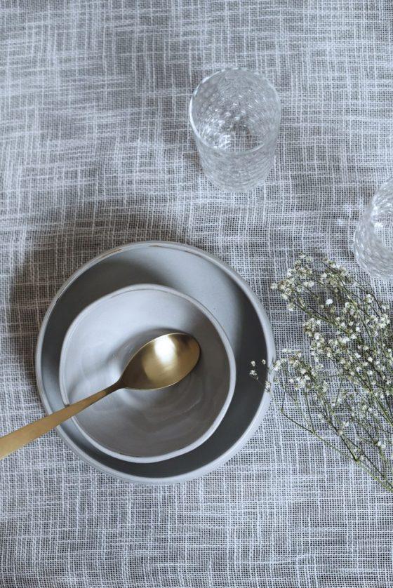 Brudeslør og borddækning