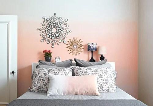 Dipingere una sola parete non è necessario dipingere ogni parete dello stesso colore se ciò ti da noia. Pittura Degrade Per Rinnovare Le Pareti Di Casa Decor Tips