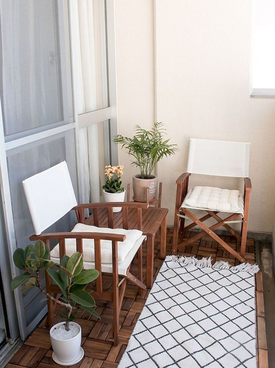 Apartment Patio Ideas to Beautify Your Small Space ... on Apartment Backyard Patio Ideas id=42502