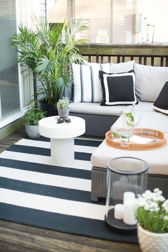 Apartment Patio Ideas to Beautify Your Small Space ... on Apartment Backyard Patio Ideas  id=53487