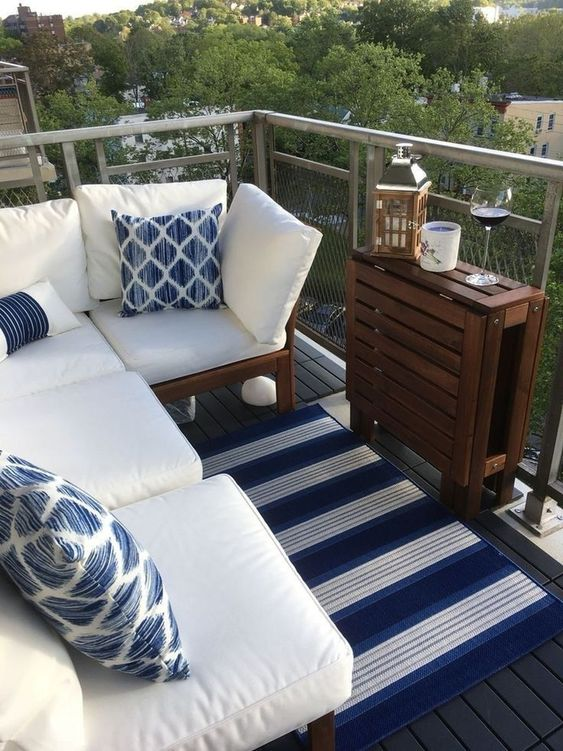 Apartment Patio Ideas to Beautify Your Small Space ... on Apartment Backyard Patio Ideas  id=55604