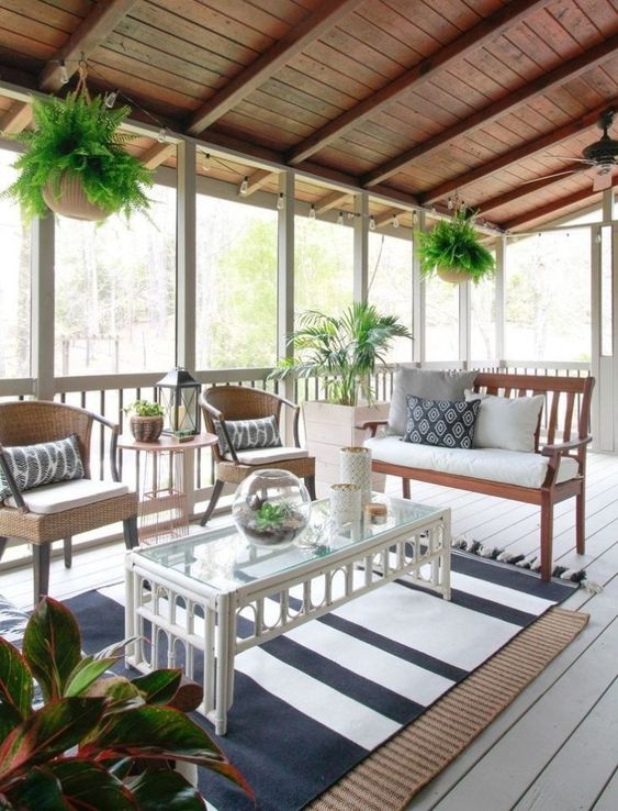 Enclosed Patio Ideas to Make Your Chilling Space Look ... on Inclosed Patio Ideas  id=33690