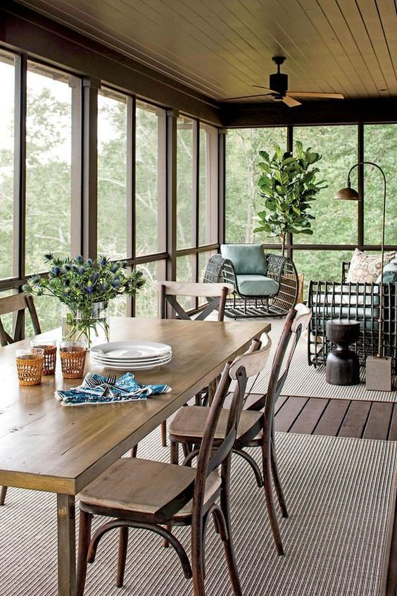 Enclosed Patio Ideas to Make Your Chilling Space Look ... on Inclosed Patio Ideas  id=69919
