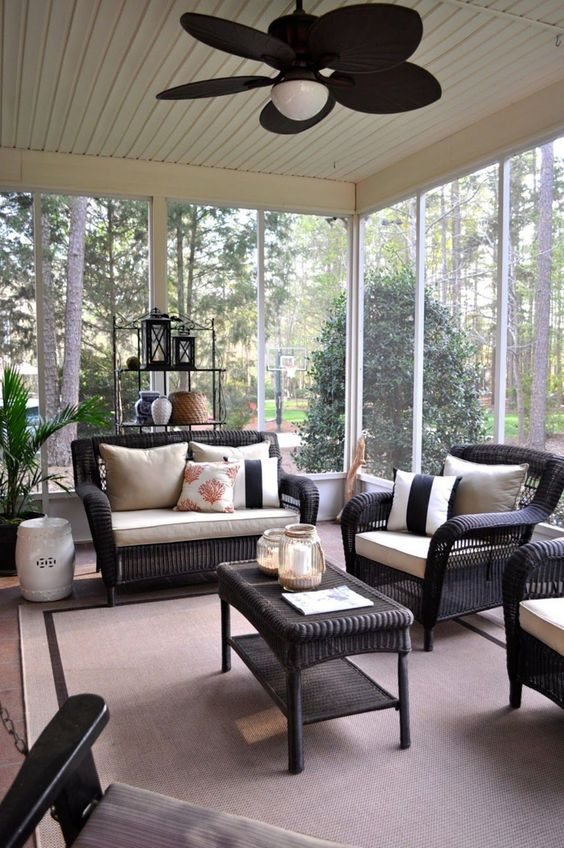 Enclosed Patio Ideas to Make Your Chilling Space Look ... on Inclosed Patio Ideas  id=86054