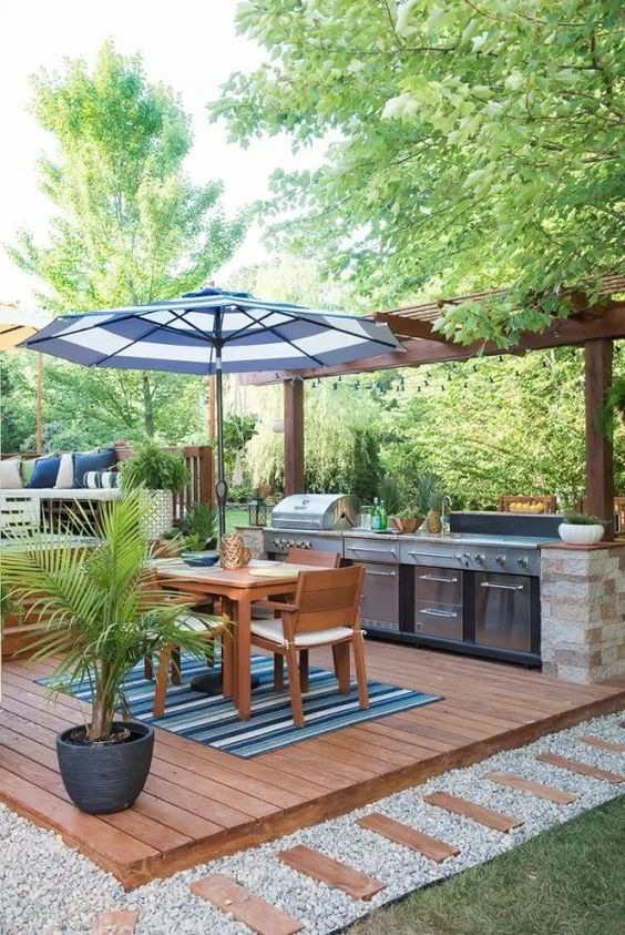 easy wood patio ideas to warm your