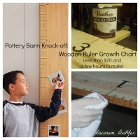 Rule of Thumb: Wooden Ruler Growth Chart PBK Knock-off