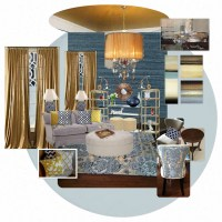 Moodboard Monday: A 'Knockout' Living Room