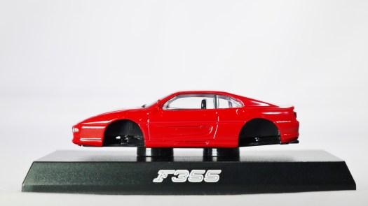 1-64 Kyosho Ferrari Minicar Col 2 -F355 - RED - 01