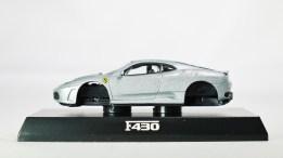 1-64 Kyosho Ferrari Minicar Col 2 - F430 2005 - SLV - 01