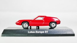 Kyosho 1-64 LOTUS Minicar Col - Europa S1 - Red - 01
