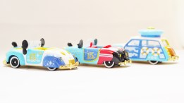 Tomica Tokyo Disney Sea 15th Anniversary - Mickey & Donald Vehicle Set - Full 3pc - 07