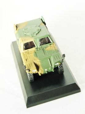 1-64 Kyosho MILITARY VEHICLE Minicar Collection - LIGHT ARMOURED VEHICLE LAV Camouflage Green - 3
