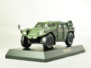 1-64 Kyosho MILITARY VEHICLE Minicar Collection - LIGHT ARMOURED VEHICLE LAV Green - 2