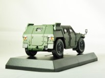 1-64 Kyosho MILITARY VEHICLE Minicar Collection - LIGHT ARMOURED VEHICLE LAV Green - 6