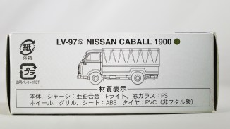 TOMICA LIMITED VINTAGE NEO TOMYTEC - LV-N111b NISSAN CABALL 1900 - DRK GRN & GRY - 08