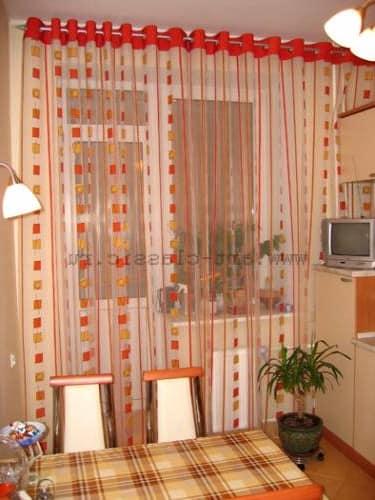 Выбираем шторы, занавески и жалюзи для кухни (30 фото)