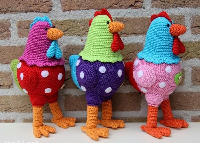Tricotate cocoșilor la noul 2019