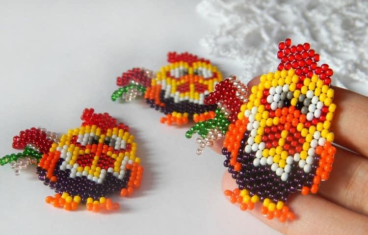 Cute Bead Keeper Cocks - Skim Warna Ready