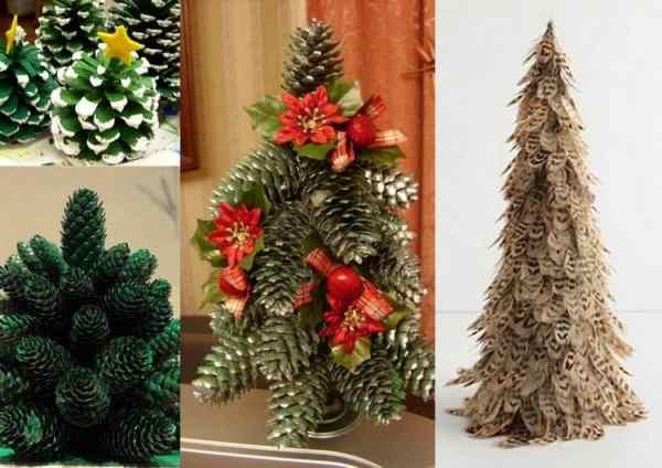 Поделка: Новогодняя елка своими руками ( 53 фото)