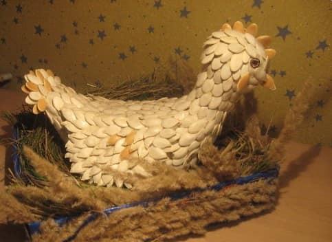 Biji Labu Rooster.
