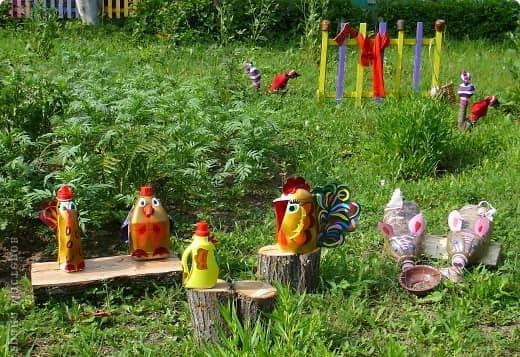 Hantverk av cockerlar från grundmaterial