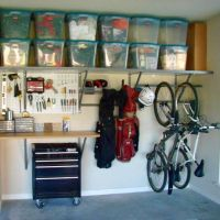 50+ Garage Organization Ideas For Cheap Garage Clutter Clearing That Will Save You Space 40